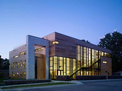 Ross Barney Architects; Jewish Reconstructionist Congregation, Evanston, Illinois, 2008