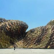 Benedetta Tagliabue . EMBT. Pabellón de España Expo Shanghai, 2010.