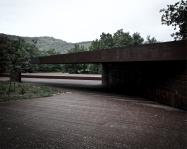 Carme Pigem, RCR Arquitectes. Pabellón de acceso al estadio de atletismo Tussols-Basil, Olot, Girona 2009-2011