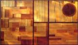Carme Pigem, RCR Arquitectes. Exfoliació: Tanca. Composición en madera y hierro, 1994