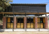 Elizabeth Añaños, Escuela Santa Elena en Piedritas
